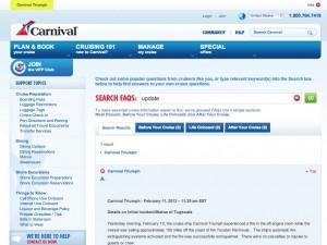 carnival web site